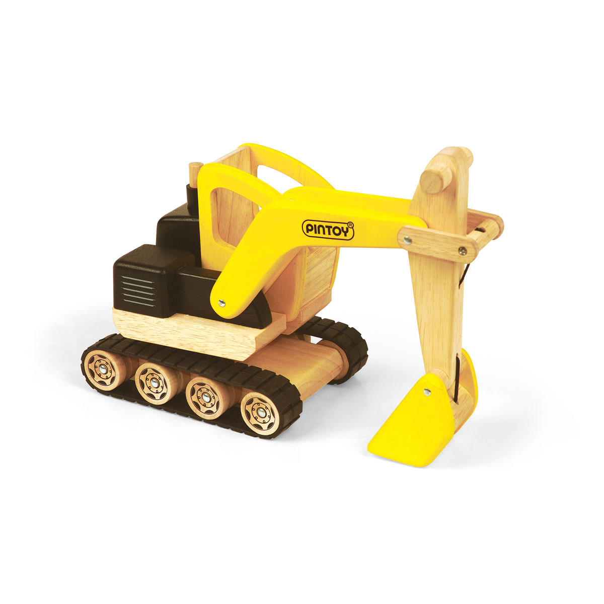 Digging Toys For Boys : Construction digger wooden toys for children