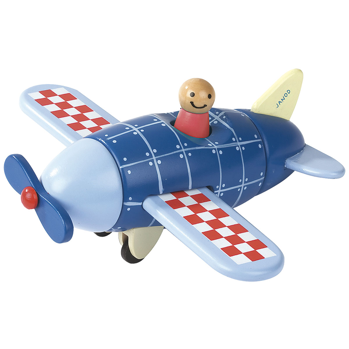 Magnetic Aeroplane Wooden Toys For Children Magnetic