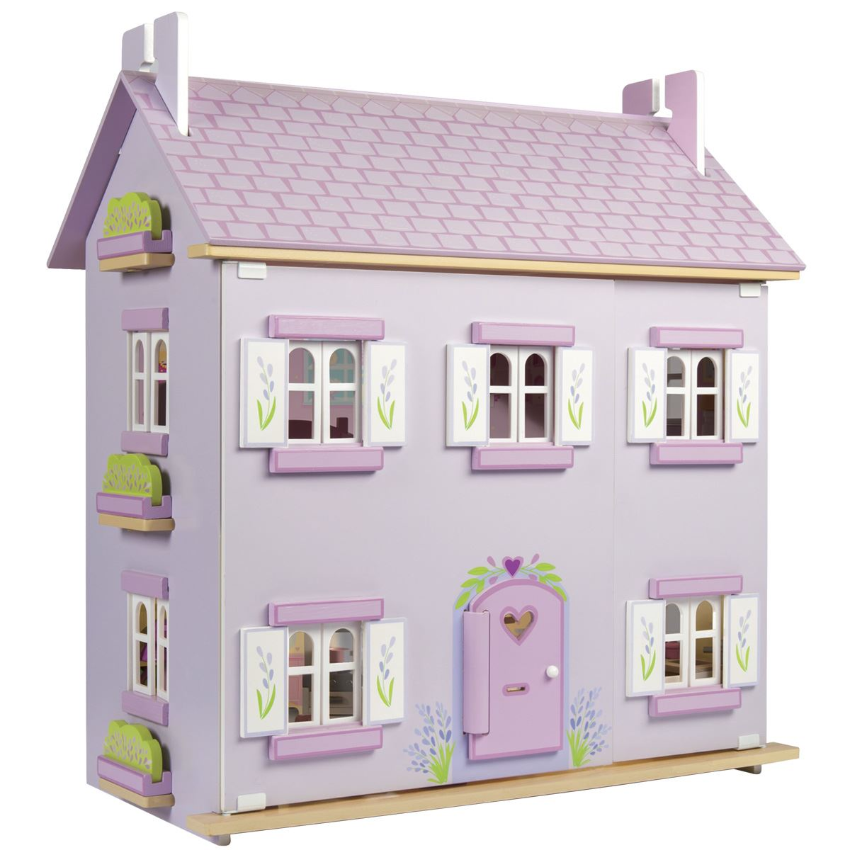 Toy Houses That Are Painted