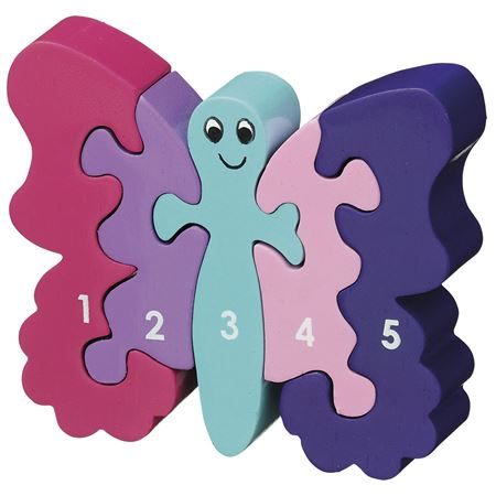 Picture of Butterfly Puzzle 1-5