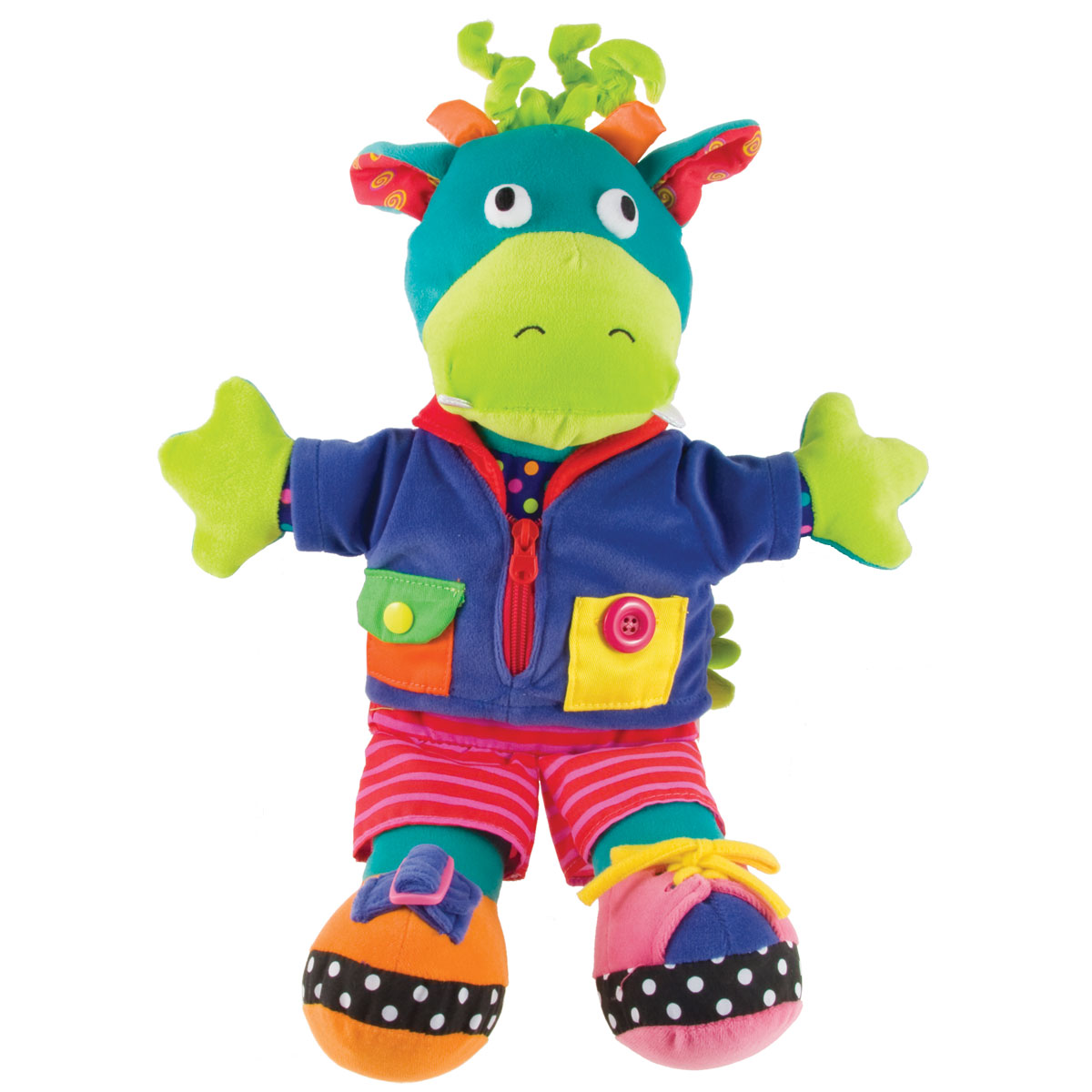 Soft Baby Toys : Dragon fastening soft toy toys for babies mulberry bush