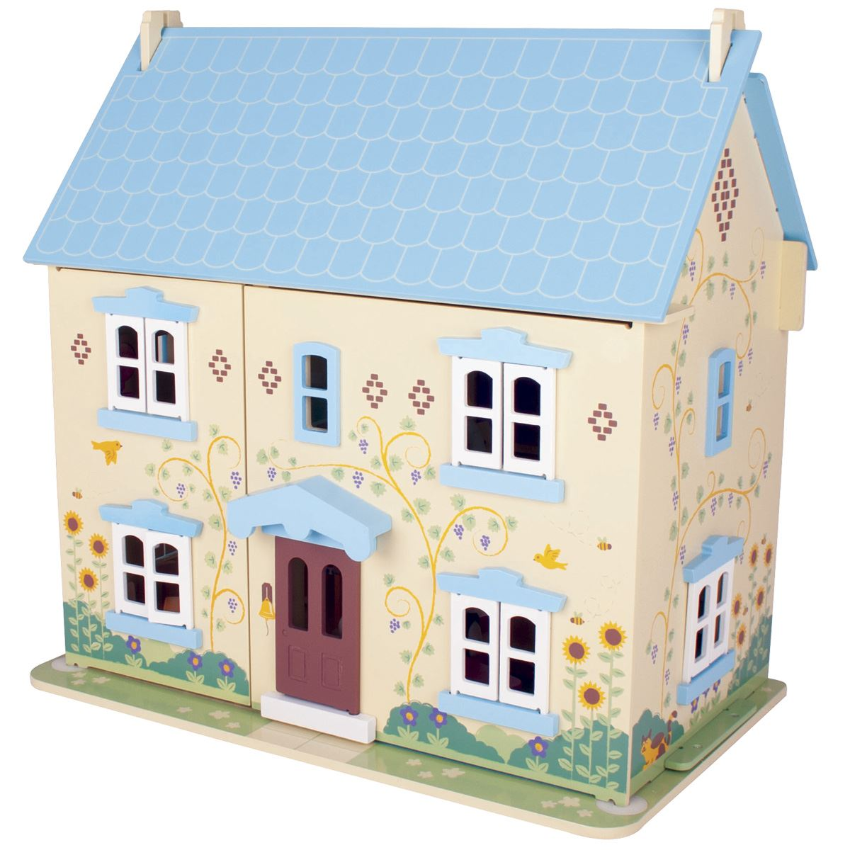 Sunflower Cottage Bigjigs Jt129 Wooden Dolls Houses