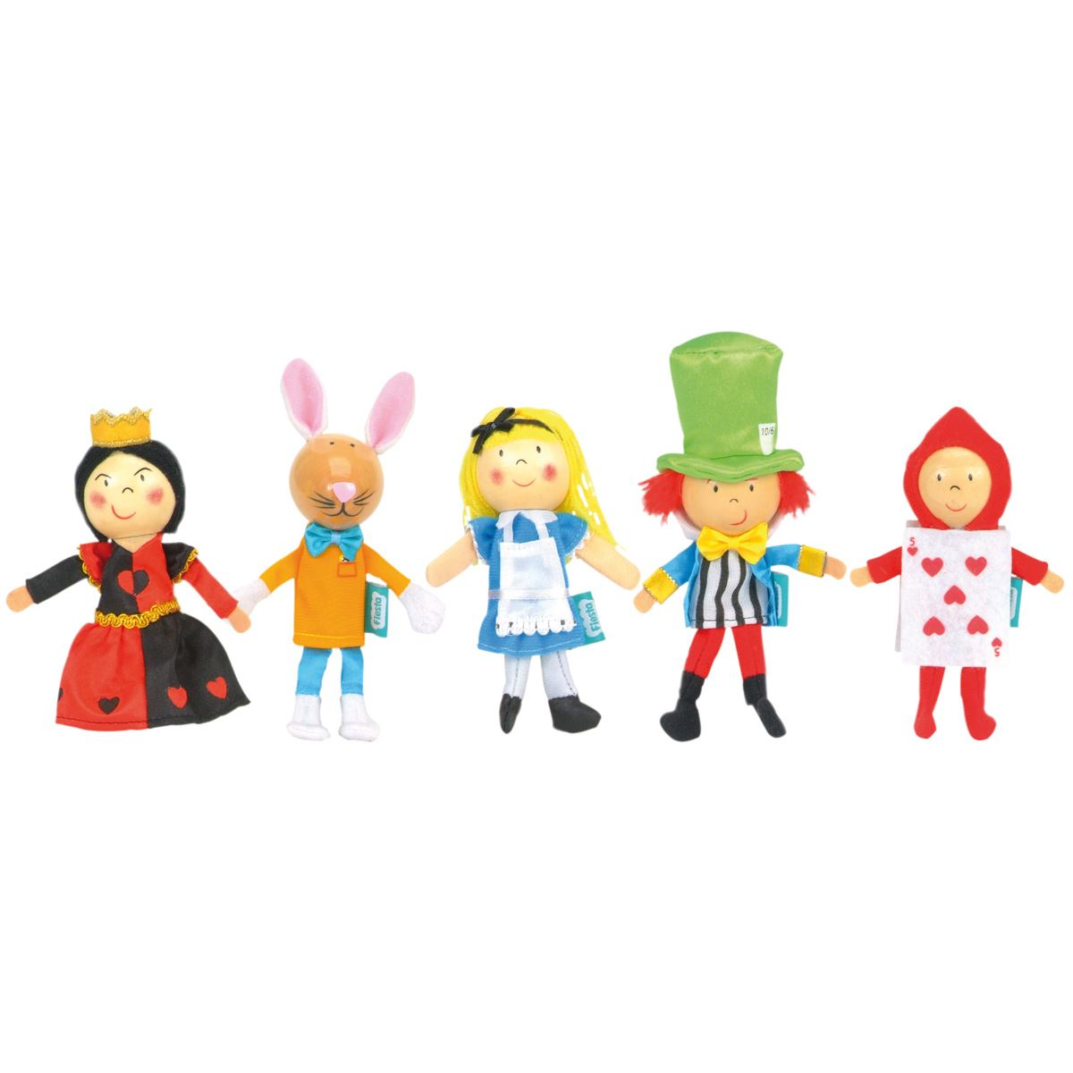Alice in wonderland finger puppets fiesta crafts - Code de reduction alice garden ...