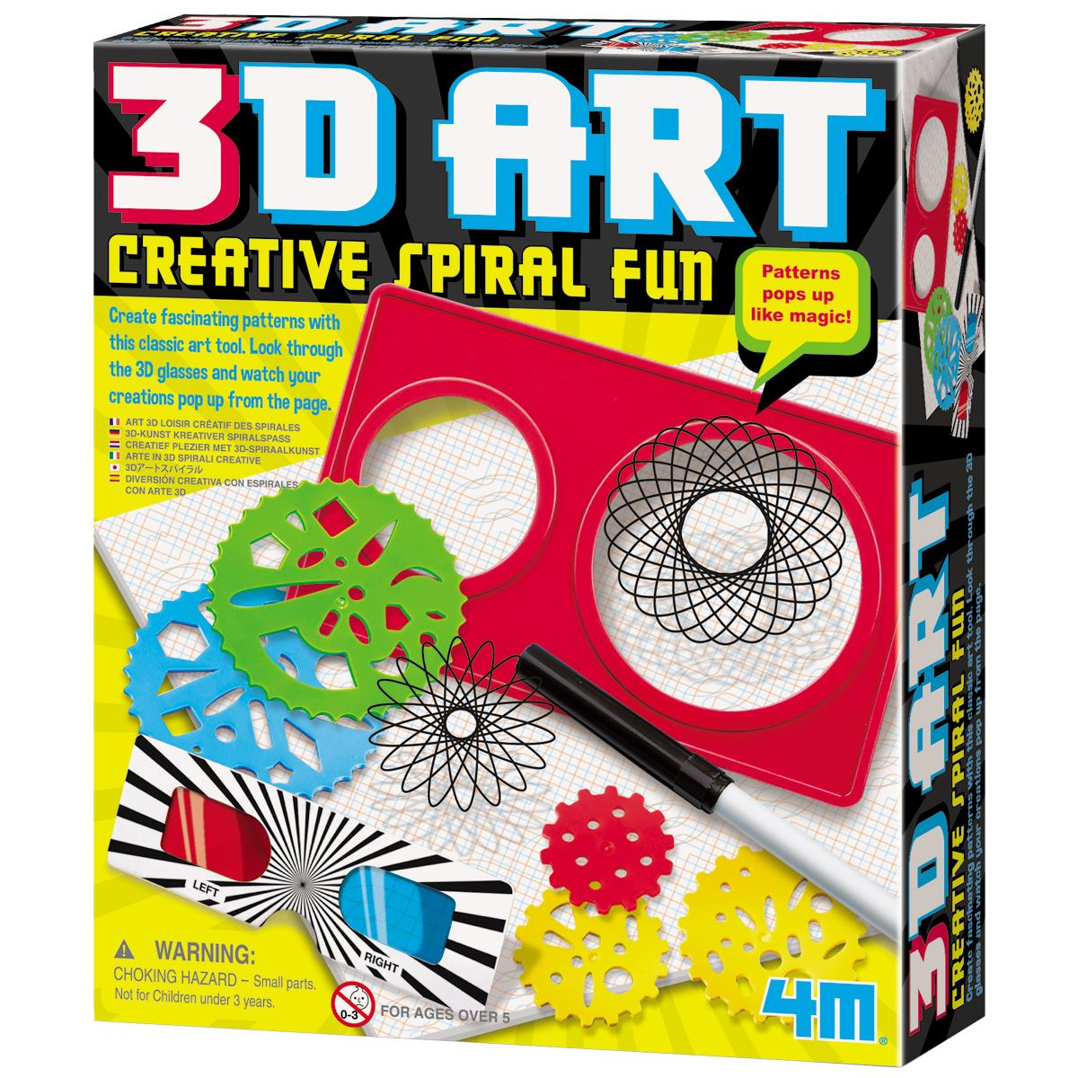 how to draw a 3d spiral