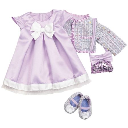 Picture of Dolls Outfit - Lilac Party Dress