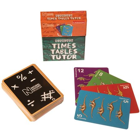 Picture of Dinosaur Times Table Tutor Cards
