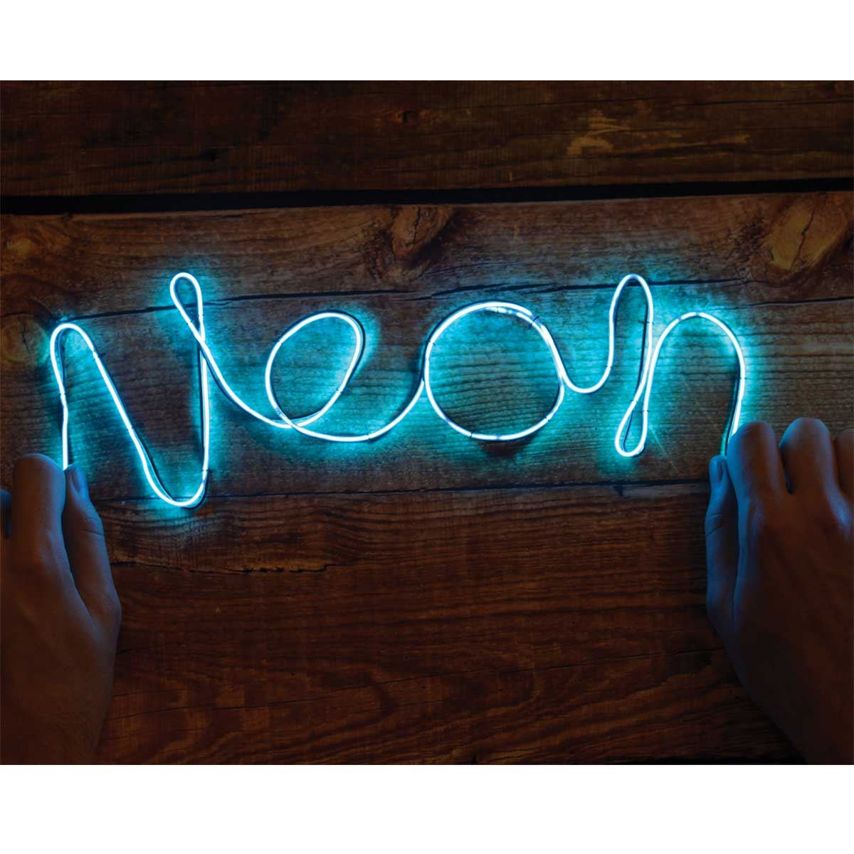 Make Your Own Neon Sign Blue Wire Kit Older