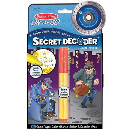 Picture of Secret Decoder Game Book
