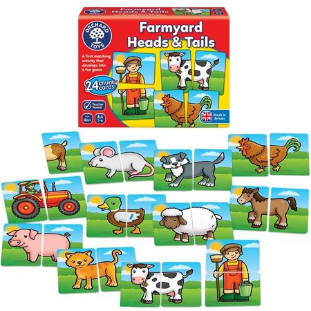 Picture of Farmyard Heads and Tails
