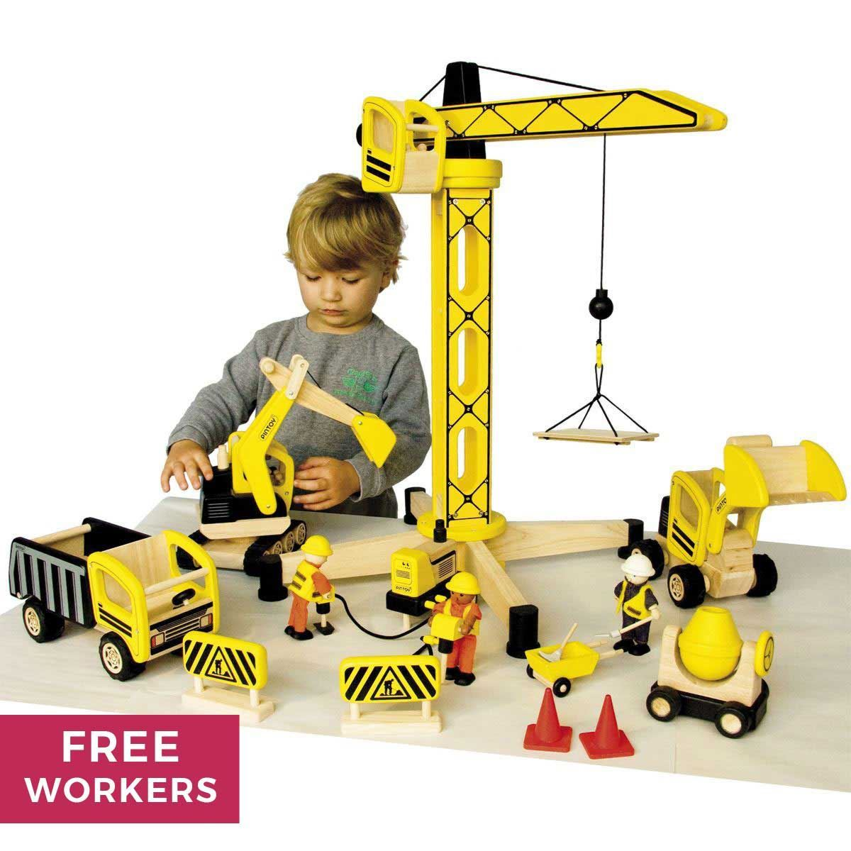 Construction Site Toys : Construction site special offer bundle pin toy